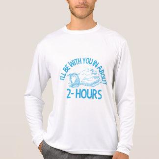 Camiseta Eu serei com você em 2hrs