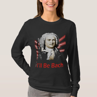 Camiseta Eu serei luva longa das senhoras de Bach