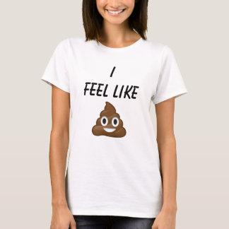 Camiseta Eu sinto como o tombadilho