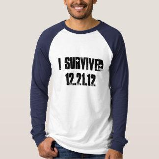 Camiseta Eu sobrevivi