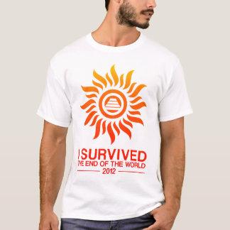 Camiseta Eu sobrevivi à extremidade do mundo 2012