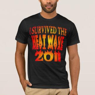 Camiseta Eu sobrevivi à onda de calor 2011