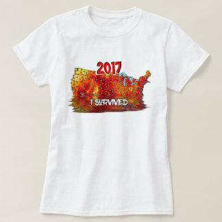 Camiseta Eu sobrevivi à onda de calor do verão dos E.U.