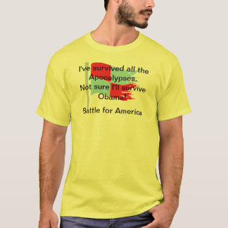 Camiseta Eu sobrevivi a todos os apocalipse