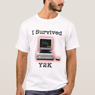 Camiseta Eu sobrevivi a Y2K