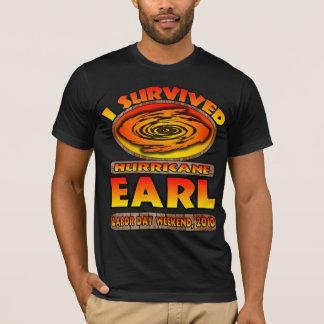 Camiseta Eu sobrevivi ao conde do furacão - fim de semana