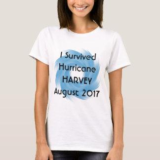Camiseta Eu sobrevivi ao furacão HARVEY