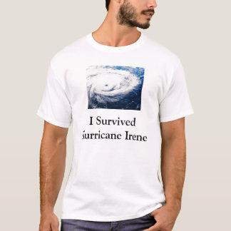 Camiseta Eu sobrevivi ao furacão Irene