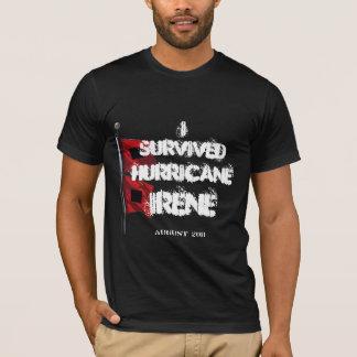 Camiseta Eu sobrevivi ao furacão Irene 2011