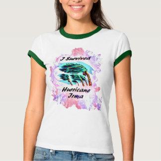 Camiseta Eu sobrevivi ao furacão Irma
