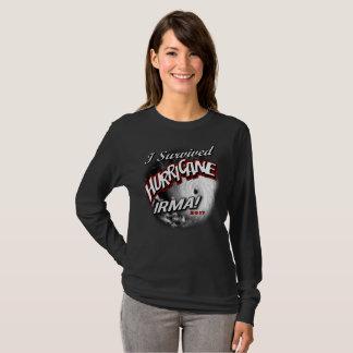 Camiseta Eu sobrevivi ao t-shirt das mulheres de Irma do