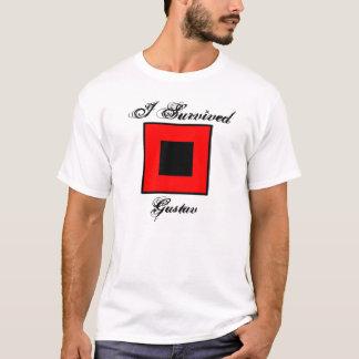 Camiseta Eu sobrevivi ao t-shirt de Gustavo - parte