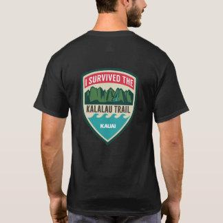 """Camiseta """"Eu sobrevivi o t-shirt dos homens à fuga de"""