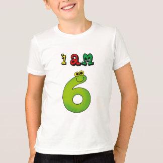 Camiseta Eu sou 6