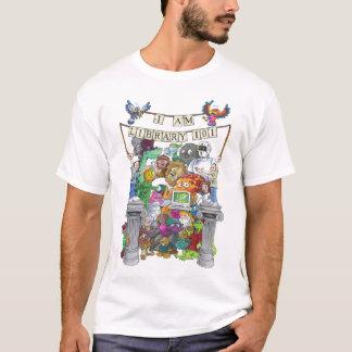 Camiseta EU SOU a BIBLIOTECA 101 - versão dos desenhos