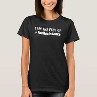 Camiseta Eu sou a cara da resistência que persistiu