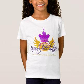 Camiseta Eu sou a perseguição para meninas de Lil