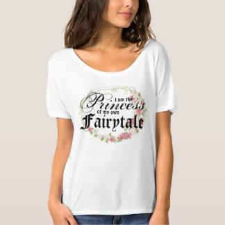 Camiseta Eu sou a princesa de meu próprio conto de fadas -