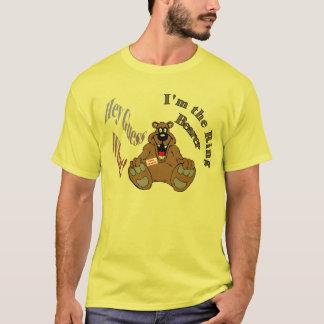 Camiseta Eu sou a suposição do portador de anel (1a) Hey