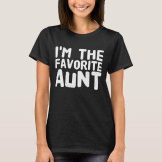Camiseta Eu sou a tia favorita