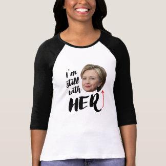 Camiseta Eu sou ainda com ela - eu sou ainda com Hillary --