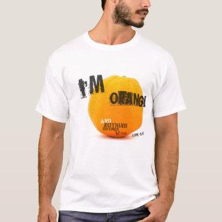 Camiseta Eu sou alaranjado