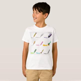 Camiseta Eu sou amante de livro do t-shirt do escritor