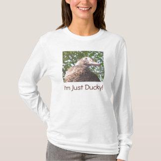 Camiseta Eu sou apenas Ducky!