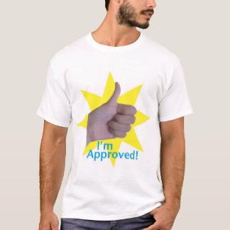 Camiseta Eu sou aprovado!