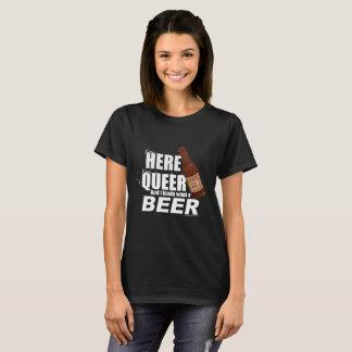 Camiseta Eu sou aqui mim sou estranho