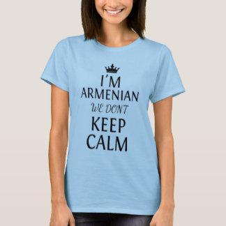 Camiseta eu sou arménio