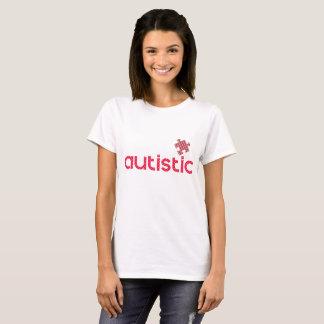 Camiseta Eu sou autístico