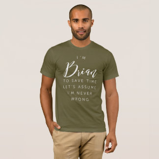 Camiseta Eu sou Brian