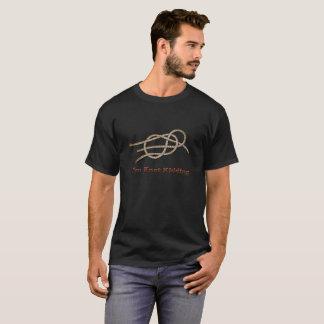Camiseta Eu sou caçoar do nó - t-shirt preto