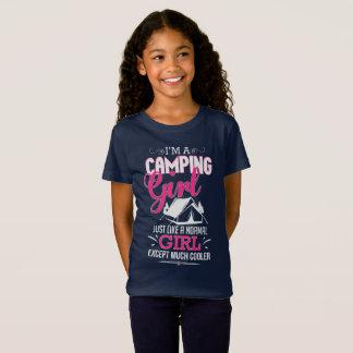 Camiseta Eu sou campista legal engraçado de acampamento da