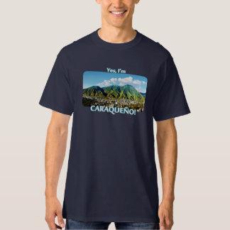 Camiseta Eu sou Caraqueño!! Parque nacional de Avila