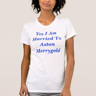 Camiseta Eu sou casado sim a Asti Merrygold