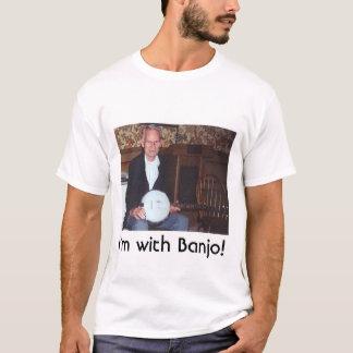 Camiseta Eu sou com banjo!
