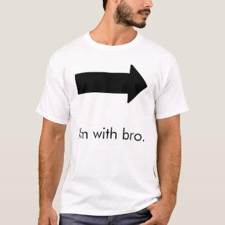 Camiseta Eu sou com bro.