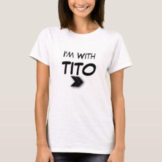 Camiseta Eu sou com direito de Tito