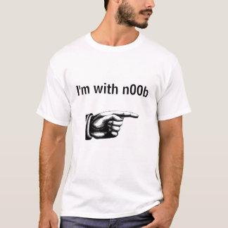 Camiseta Eu sou com n00b