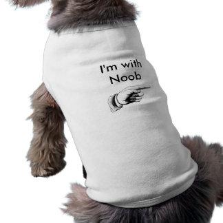 Camiseta Eu sou com Noob