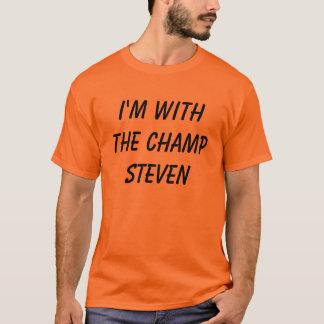 Camiseta Eu sou com o ChampSteven