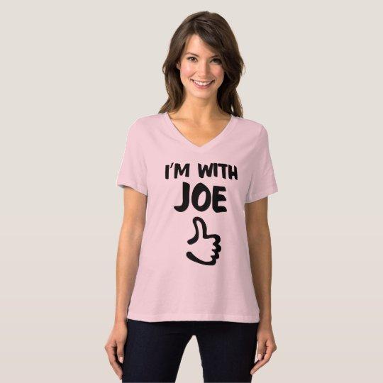 Camiseta Eu sou com o tshirt apto relaxado das mulheres de