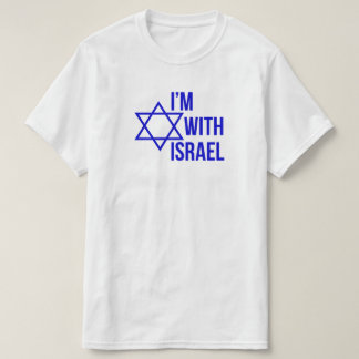 Camiseta Eu sou com t-shirt de Israel