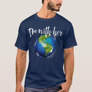 Camiseta Eu sou com terra