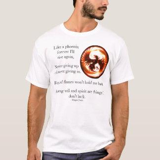 Camiseta Eu sou como um Phoenix