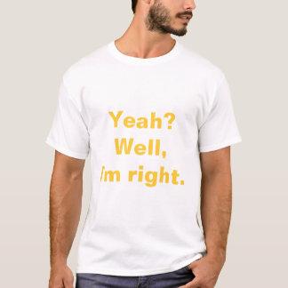Camiseta Eu sou direito