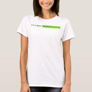 Camiseta Eu sou do Mesopotamia.