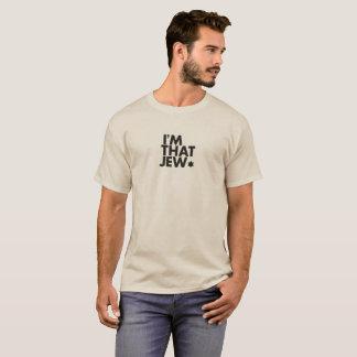 Camiseta Eu sou esse t-shirt dos homens do judeu